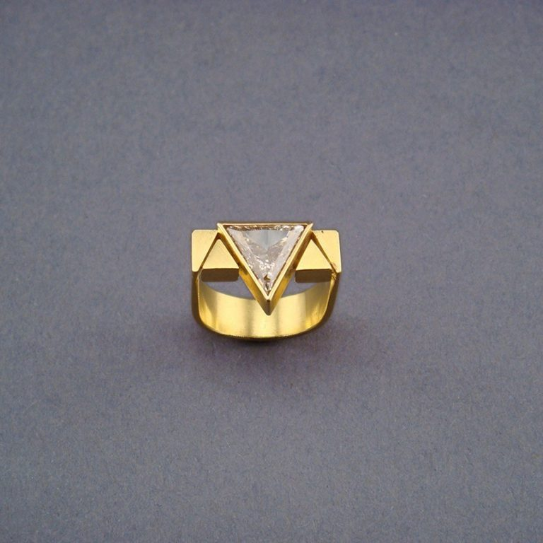 RING - GOLD MIT DIAMANT