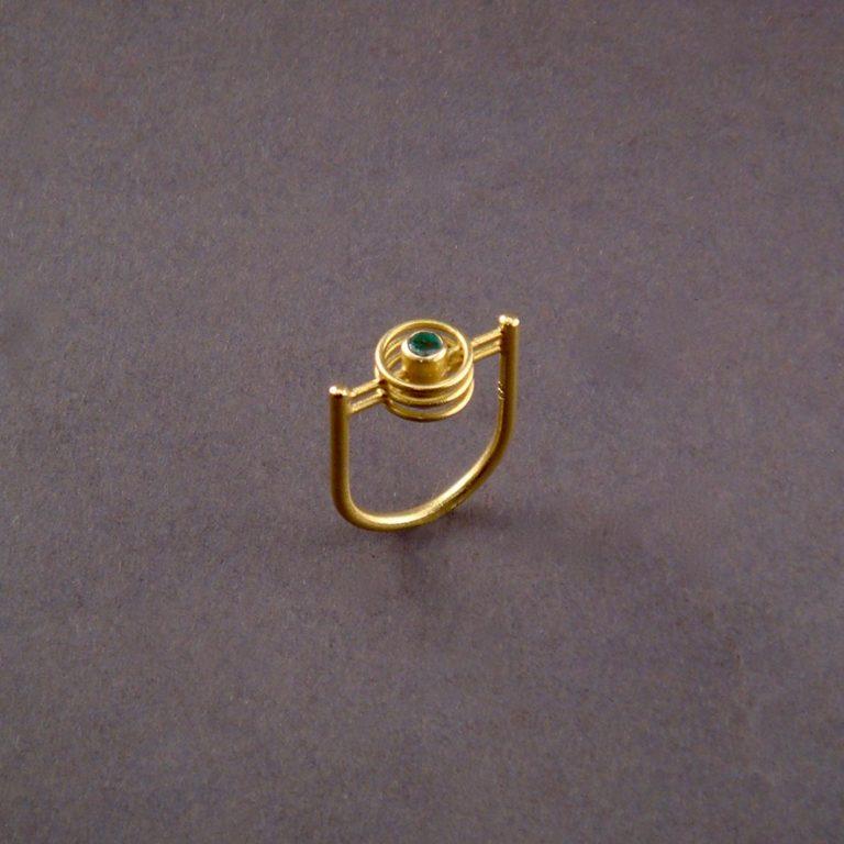 RING - GOLD MIT DIAMANT