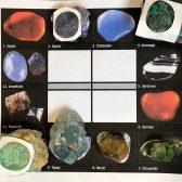 Eine erste Auswahl der Steine - ausgewählt nach den Grundsteinen des neuen Jerusalems.
